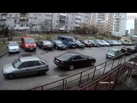 Что это было? Странное происшествие на парковке в Калининграде