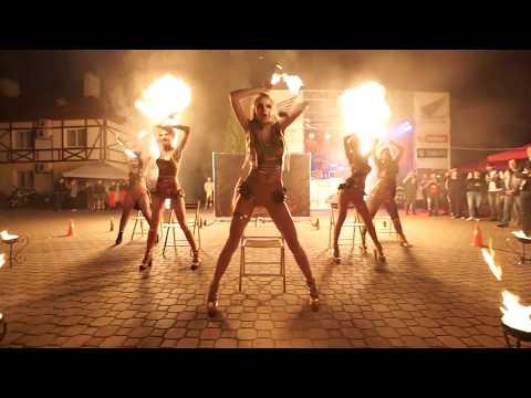 """Фаєр шоу  від Театру вогню """"TRION"""", відео 2"""