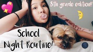 School Night Routine || 8th Grader