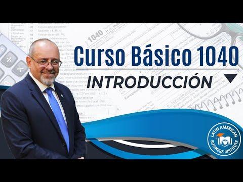 Introducción Curso Basico 1040