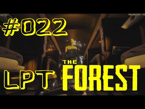 THE FOREST [HD] #022 - LPT - Absturz in neue Abenteuer ★ Let's Play Together The Forest