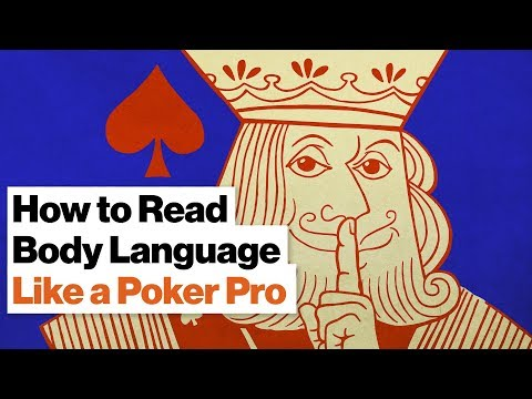 How to Read Poker Player Body Language