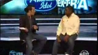 American Idol Extra - Chikezie Interview - Part 1