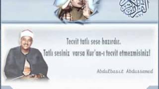 Abdulbasit Abdussamed - Kısa Sureler