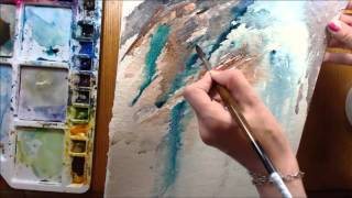 Intuitive Painting in Watercolour with Angela Fehr