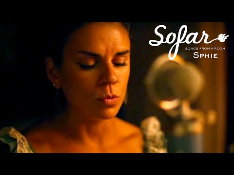 "Sphie sings original track, ""Love is the Answer,"" for Sofar Sounds."