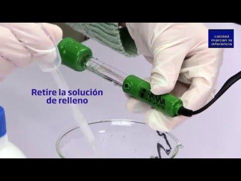 Relleno electrodos de pH