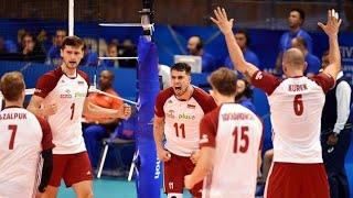 Siatkarska Liga Narodów | Polska - Argentyna (3-2) 21.06.2019 | Końcówka Meczu