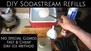 SodaStream CO2 Refill - No Special Gizmos!