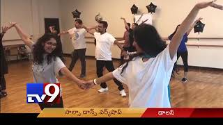Sandip Soparrkar teaches Salsa to NRIs || Dallas || USA