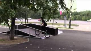 preview picture of video 'Скейтодром в Теплом Стане'