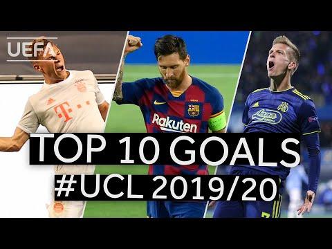 DANI OLMO KIMMICH MESSI: #UCL 2019/20 Top Ten GOALS