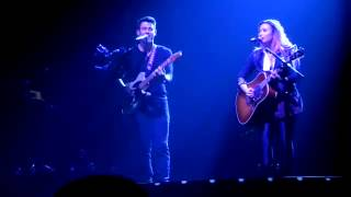 Demi Lovato And Nick Jonas - Stop The World/Catch Me (Live in San Jose)