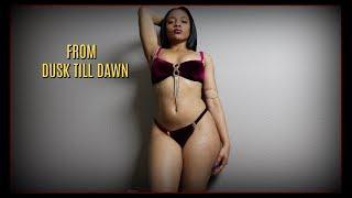 "Thick Bikini Try On Haul | Salma Hayek ""From Dusk Till Dawn"" Inspired | Brooklyn Exotic Design"