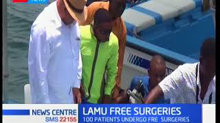 3 week long medical camp at Lamu as 100 patients undergo free surgeries