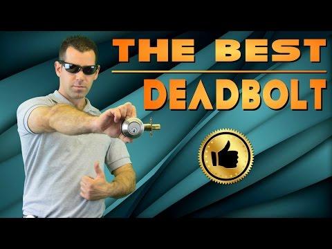 Deadbolt – Tutorial & Installation for Deadbolt Lock: The Ultimate Lock, Schlage and more