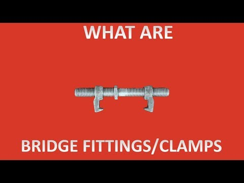 What are bridge fittings/clamps for shipping containers