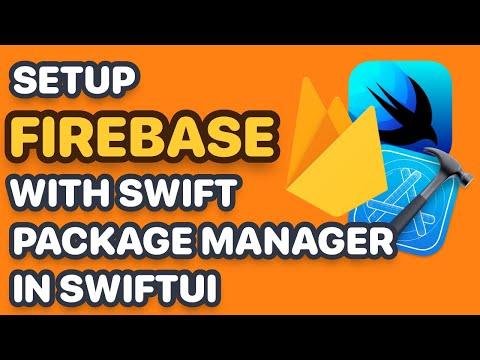 Setup SwiftUI App with Firebase SPM (Swift Package Manager, SwiftUI Tutorial, Firebase Crashlytics) thumbnail