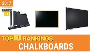 Chalkboards Top 10 Rankings, Reviews 2017 & Buying Guides