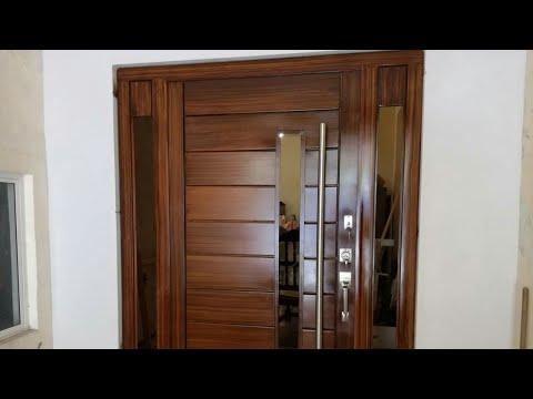 Cómo hacer una puerta moderna de herrería FÁCIL! || Herrería