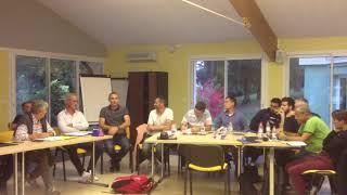 Equipe Technique Régionale en séminaire à Puymoyen