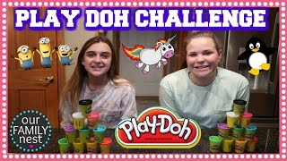 PLAY DOH CHALLENGE