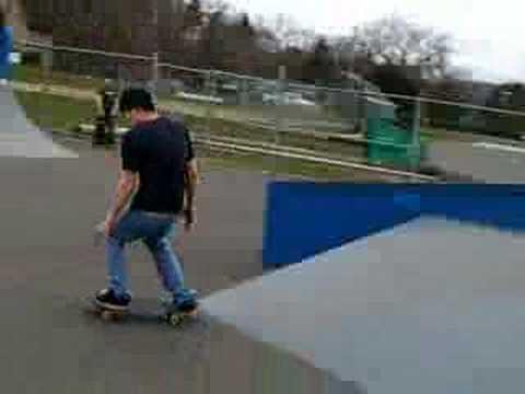 Skate Boarding at Cheshire Skatepark, CT