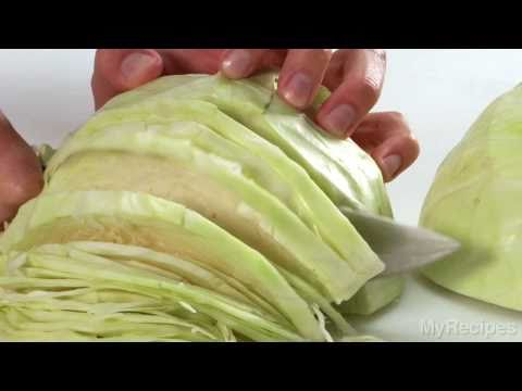 How To Slice Cabbage