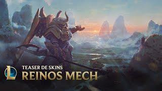 Mais alto | Teaser das skins Reinos Mech - League of Legends
