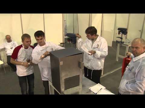 Металлообработка работа с листовым металлом Ворлдскиллс хи-теч Расся 2014 (Mеталворкинг)