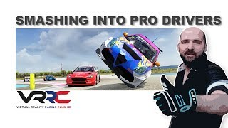 Smashing Into Real World Pro Drivers | Assetto Corsa
