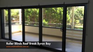 Roller Blinds Reef Break Byron Bay
