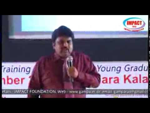 How to make career in IT |Naresh Babu|TELUGU IMPACT Hyd Dec 2013