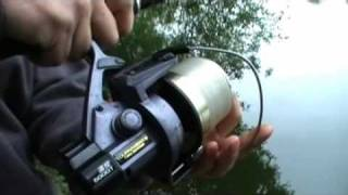 preview picture of video 'Carp Connection, Fishing Sandhurst Lake, Yateley, August 2008'