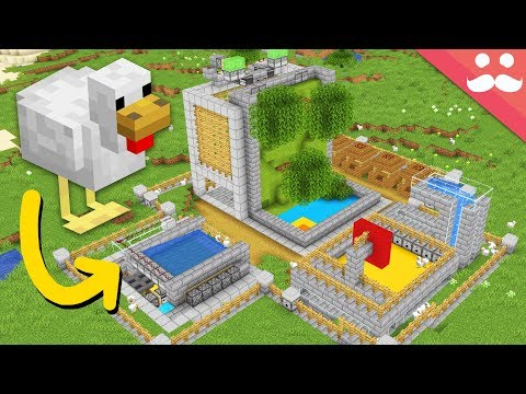 What if Chickens Could do Redstone?
