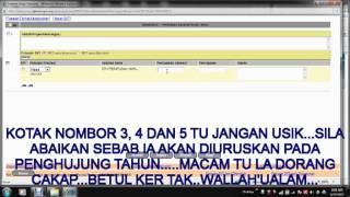 FULL  VIDEO CARA MASUKKAN DATA HRMIS ONLINE