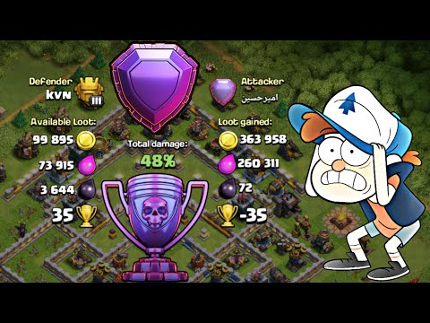 TH12 BEST TROPHY PUSH BASE FOR LEGEND LEAGUE WITH REPLAYS
