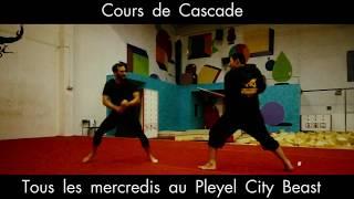 Cours de cascades et chorégraphies de combat au Pleyel City Beast