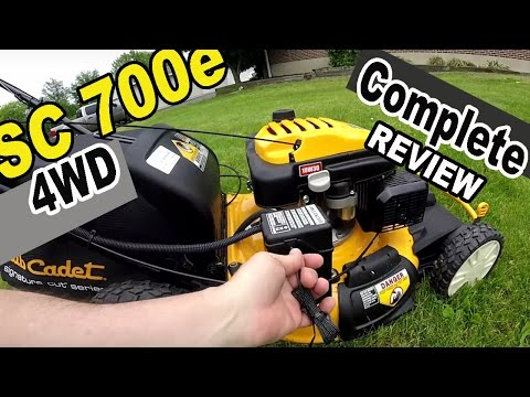 Cub Cadet self propelled lawn mower review – SC 700e