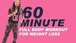 REMIX #1 | 60 Minutes DANCE FITNESS WORKOUT for WEIGHT LOSS | Full Body Workout | MICHELLE VO