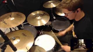 Death of the Robot with Human Hair Drum Cover - Dance Gavin Dance