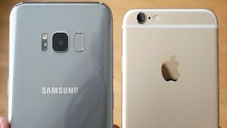 Galaxy S8 Plus vs iPhone 6! - Speed Test