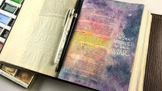 Bible Journaling Dt 1:13 Appointed like a STAR!