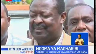 Viongozi na wazee kutoka jamii wa waluhya leo wameandaa mkutano ili kujadili mustakabali wa kisiasa