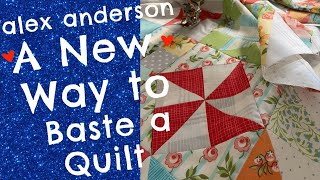 Alex Anderson LIVE: The New Way To Baste A Quilt