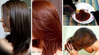 Natural BROWN Hair Dye 100% Homemade With Simple Ingredients Urdu Hindi