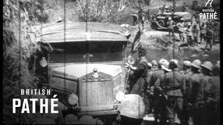 Italian Motor Convoy in Ethiopia (1937)