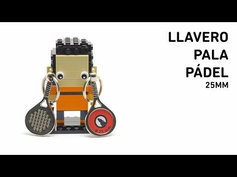 Llavero Pala Pádel