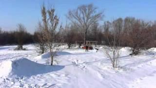preview picture of video 'BP snow 2 (Bike park Želiezovce 2011)'