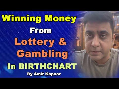 Winning Money From Lottery & Gambling In BIRTHCHART | Astrology